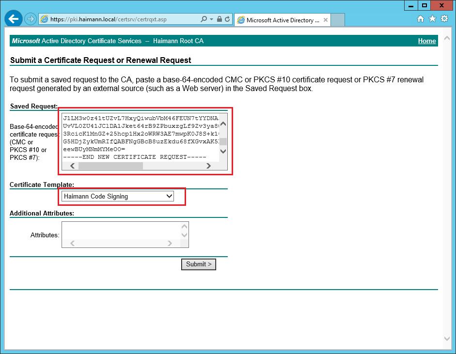 Java Deployment Rule Set Mit Microsoft Ca Signieren