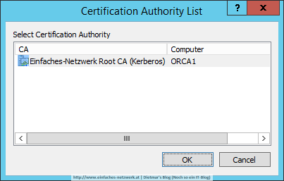 Root Certificate Authority List Local Peer Discovery
