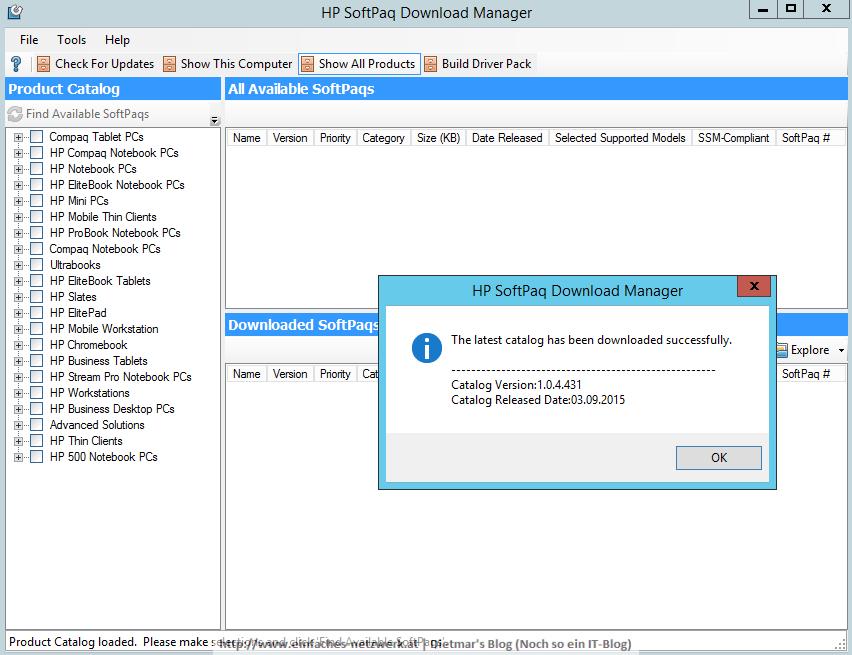 HP_SOFTPAQ-005 - Ein einfaches NetzwerkEin einfaches Netzwerk