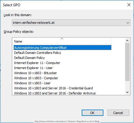 Always On VPN - Verwaltung der Zertifikate - Ein einfaches Netzwerk